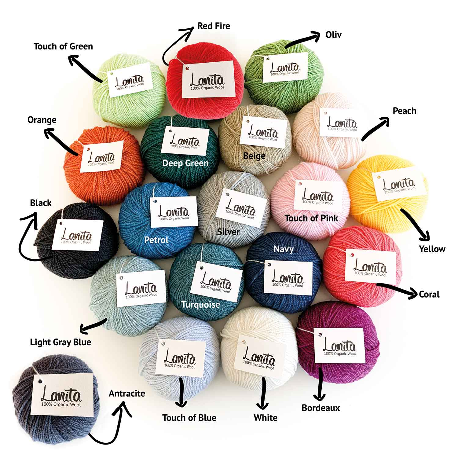 lanita ecological wool collection names