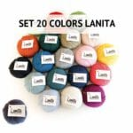 lanita wool collection set 20 colors