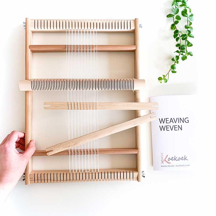 large weaving loom Studio Koekoek
