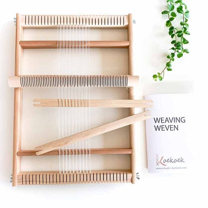 large weaving loom Studio Koekoek