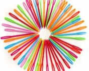 plastic embroidery needle for children