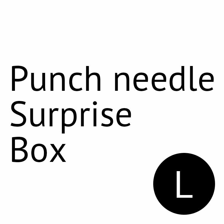punch needle surprise box l