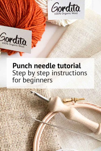 punch needle tutorial for beginners studio koekoek punch needle instructions blog