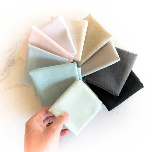 sale 10 pieces eco canvas in 10 colors