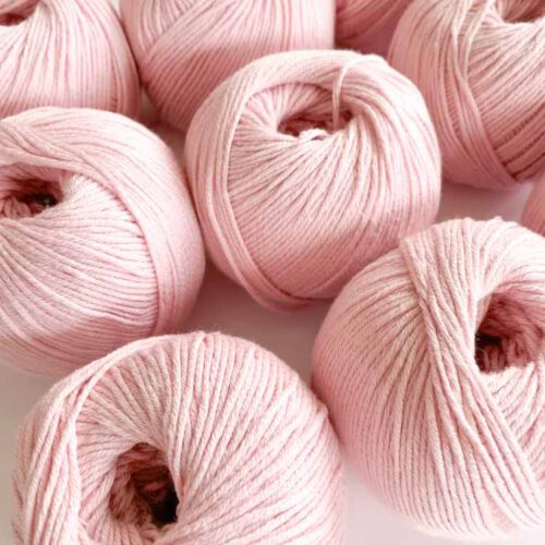 sale 9 balls lyocell cotton soft pink-2