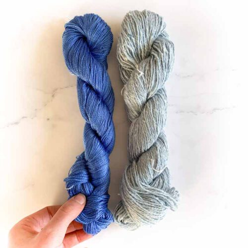 sale silk knitting yarn mix