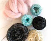 sale weaving fibre mix 27
