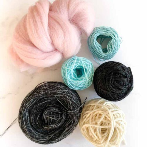 sale weaving fibre mix 27