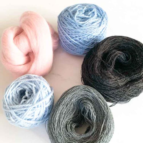 sale weaving yarn pack