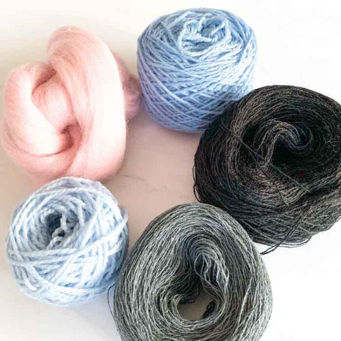 sale weaving yarn pack