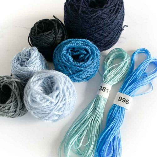 mini weaving yarn pack 6