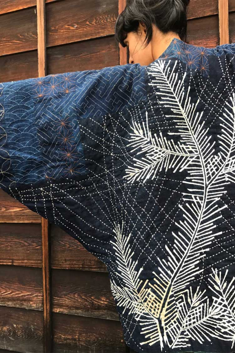 sashiko jacket by upcycle stitches