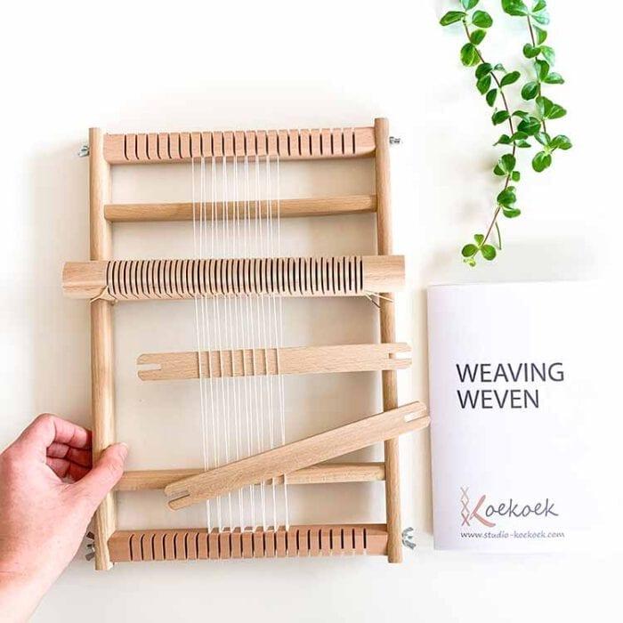 small weaving loom Studio Koekoek