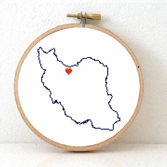 stitchamap - Iran
