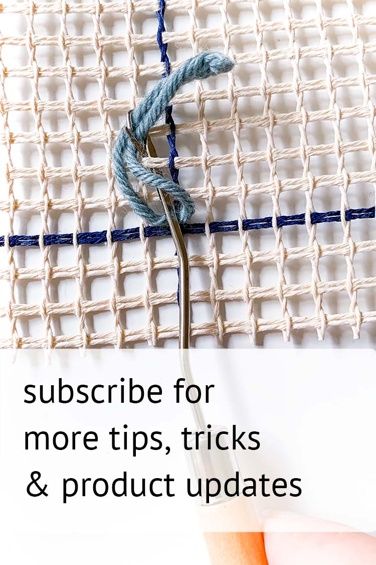 subscribe rug making blog