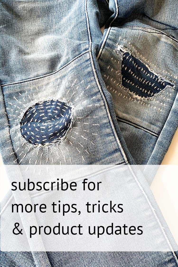 subscribe visible mending newsletter