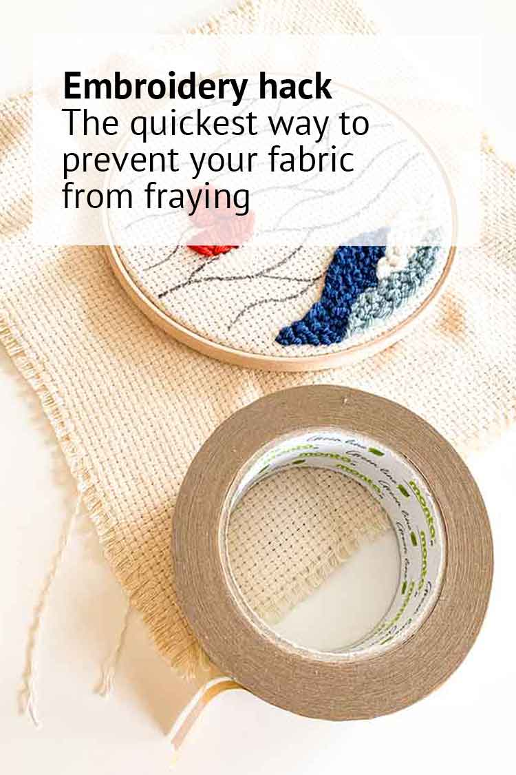 the quickest way to prevent fraying