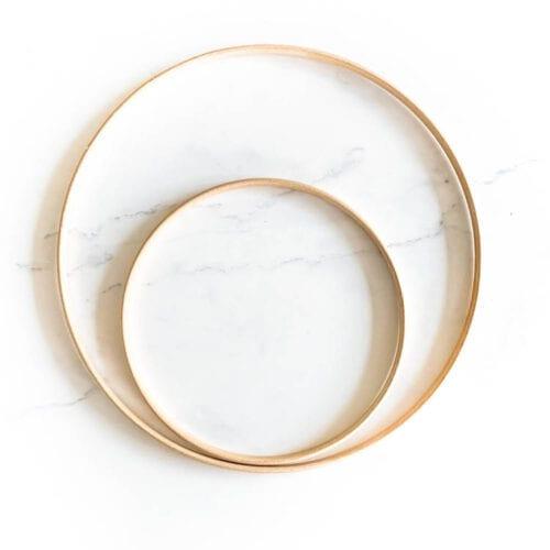 wooden inner hoops