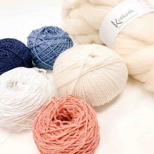 yarn pack blue pink