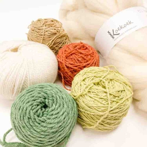 yarn pack green autumn